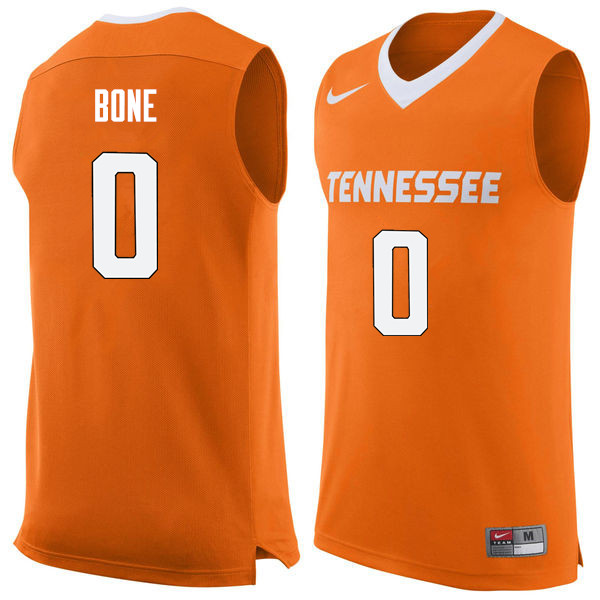 Men #0 Jordan Bone Tennessee Volunteers College Basketball Jerseys Sale-Orange