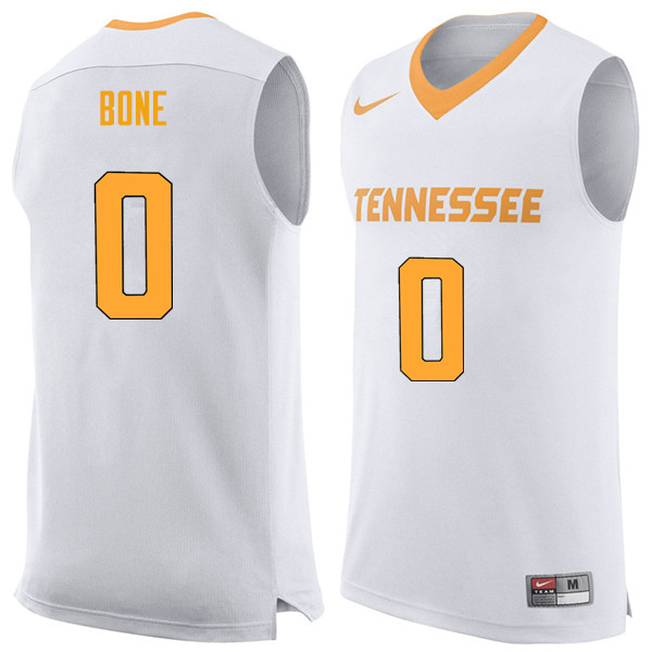Men #0 Jordan Bone Tennessee Volunteers College Basketball Jerseys Sale-White