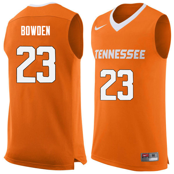 Men #23 Jordan Bowden Tennessee Volunteers College Basketball Jerseys Sale-Orange